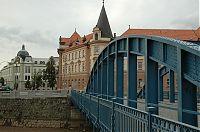 České Budějovice - nábřeží Malše u soudu