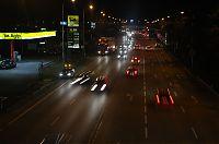 Noční autostráda