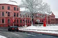 Zima v červené
